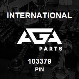 103379 International PIN | AGA Parts