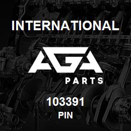 103391 International PIN   AGA Parts