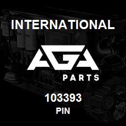 103393 International PIN | AGA Parts