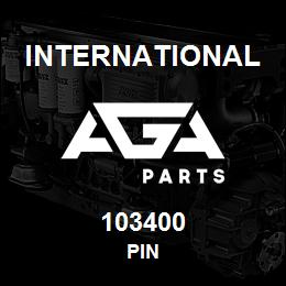 103400 International PIN | AGA Parts