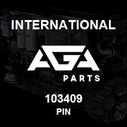 103409 International PIN   AGA Parts