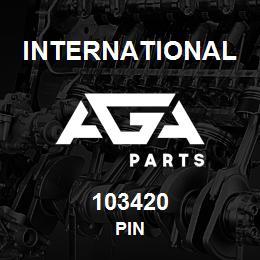 103420 International PIN | AGA Parts