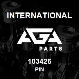 103426 International PIN | AGA Parts