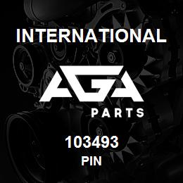 103493 International PIN | AGA Parts