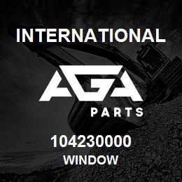 104230000 International WINDOW | AGA Parts