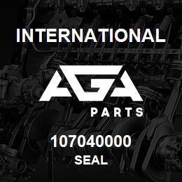 107040000 International SEAL   AGA Parts