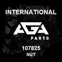 107825 International NUT | AGA Parts