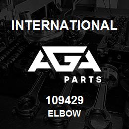 109429 International ELBOW   AGA Parts