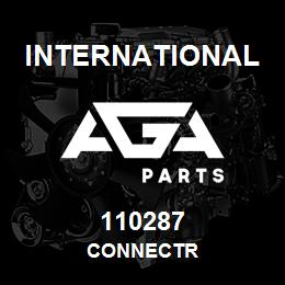 110287 International CONNECTR | AGA Parts