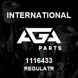 1116433 International REGULATR | AGA Parts