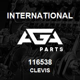 116538 International CLEVIS | AGA Parts