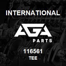 116561 International TEE | AGA Parts