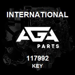 117992 International KEY | AGA Parts