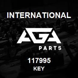 117995 International KEY   AGA Parts