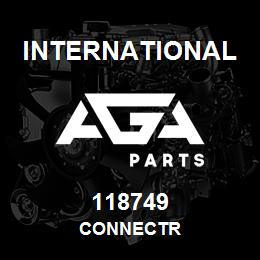 118749 International CONNECTR | AGA Parts