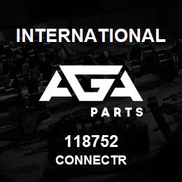118752 International CONNECTR   AGA Parts