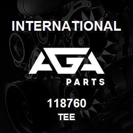 118760 International TEE | AGA Parts