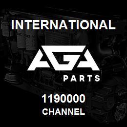 1190000 International CHANNEL | AGA Parts
