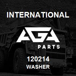 120214 International WASHER | AGA Parts