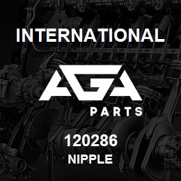 120286 International NIPPLE   AGA Parts