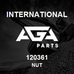 120361 International NUT | AGA Parts