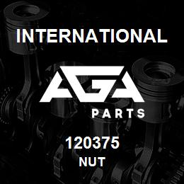 120375 International NUT | AGA Parts