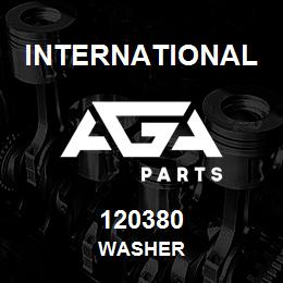 120380 International WASHER | AGA Parts