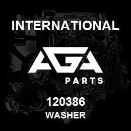 120386 International WASHER | AGA Parts