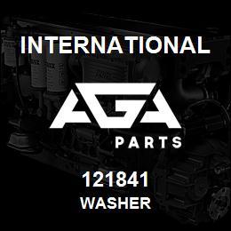 121841 International WASHER | AGA Parts