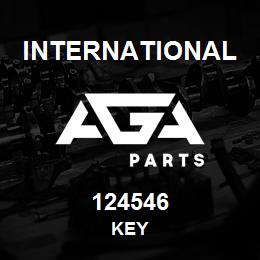 124546 International KEY | AGA Parts