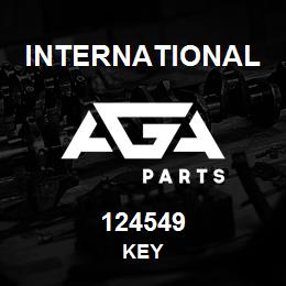 124549 International KEY | AGA Parts