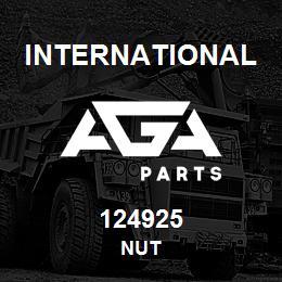 124925 International NUT | AGA Parts