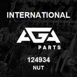 124934 International NUT | AGA Parts