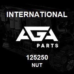 125250 International NUT | AGA Parts