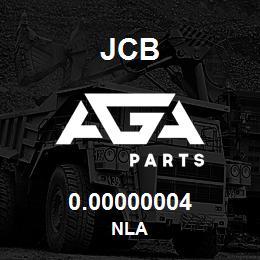 0.00000004 JCB NLA