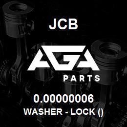 0.00000006 JCB WASHER - LOCK ()