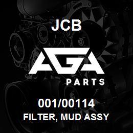 001/00114 JCB Filter, Mud Assy
