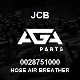 0028751000 JCB Hose air breather