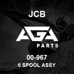 00-967 JCB 6 Spool Assy