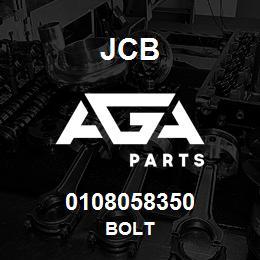0108058350 JCB Bolt