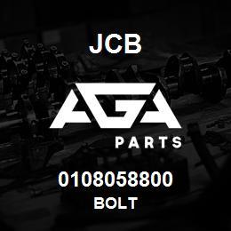 0108058800 JCB Bolt