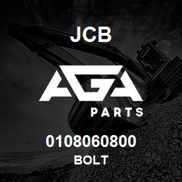0108060800 JCB Bolt