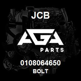 0108064650 JCB Bolt