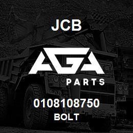 0108108750 JCB Bolt
