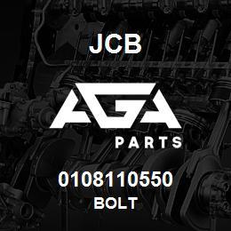 0108110550 JCB Bolt