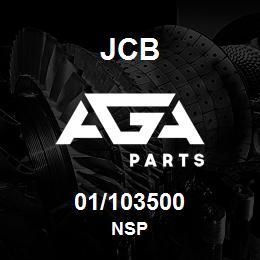 01/103500 JCB NSP