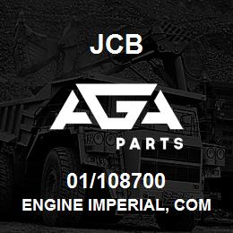 01/108700 JCB Engine imperial, Complete 4.236 Compensated LH50149 SeeNote1