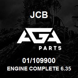 01/109900 JCB Engine Complete 6.354.4 Compensated TX50181