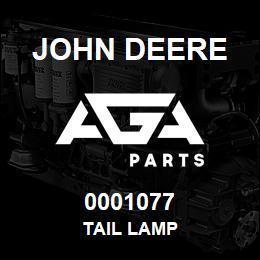 0001077 John Deere TAIL LAMP