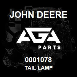 0001078 John Deere TAIL LAMP | AGA Parts